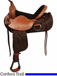 "15"" to 17"" Big Horn Lady Light Weight Flex Trail Saddle"