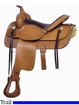 "** SALE ** 15"" to 17"" Billy Cook Texas Trail Saddle 291475"
