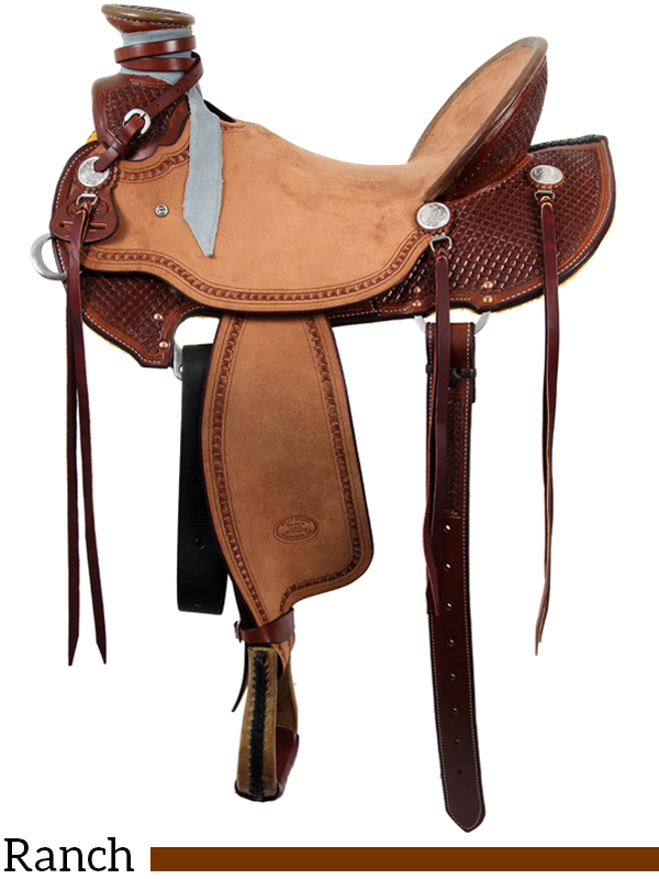 15 Quot To 17 Quot Billy Cook Wade Ranch Saddle 2197