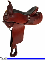 "** SALE ** 15"" to 17"" Courts Saddlery Trail Saddle 97001B 93001B"