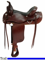 "** SALE ** 15"" to 17"" Courts Saddlery Trail Saddle 9788RB 9388RB"