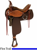"** SALE ** 15"" to 17"" Fabtron Lady Flex Wide Trail Saddle 7152 7154 7156"
