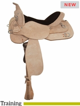 "15"" to 17"" High Horse by Circle Y Oakland Training Saddle 6315 w/$80 Gift Card"