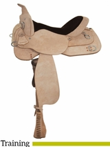 """15"""" to 17"""" High Horse by Circle Y Oakland Training Saddle 6315"""