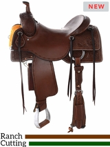 "** SALE ** 15"" to 17"" Reinsman Ranch Cutting Saddle 4826 w/$210 Gift Card"