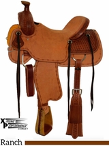"** SALE ** 15"" to 18"" Circle Y XP Bernard Ranch Saddle 1130 w/$210 Gift Card"