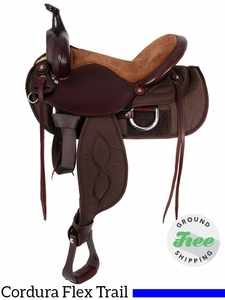 "15"" Used Big Horn Lady Light Weight Flex Trail Saddle 323"