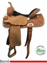 """SOLD 2017/06/27  15"""" Used Billy Cook Wide Barrel Racer 2010 usbi3828 *Free Shipping*"""