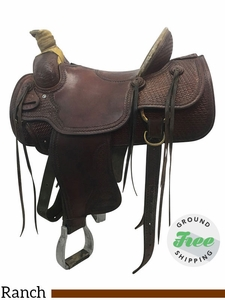 """SOLD 2017/09/05  15"""" Used Billy Cook Wide Rancher 2080 usbi3740 *Free Shipping*"""