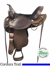 "15"" Used High Horse Daisetta Wide Trail Saddle 6914 ushh3899 *Free Shipping*"