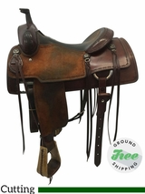 "15"" Used Martin Saddlery Wide Cutter usmr3598 *Free Shipping*"