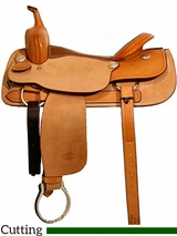 "** SALE ** 16"" to 17"" Billy Cook Classic Cutting Saddle 8942"