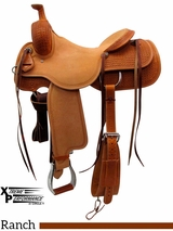 "** SALE ** 15"" to 17"" Circle Y Xtreme Performance Dodge Cowhorse Ranch Sorter Saddle 1389 w/$210 Gift Card"