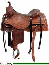 "15"" to 17"" Martin Saddlery Working Cowhorse Saddle mr18B"