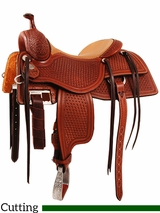 "15"" to 17"" Martin Saddlery Working Cowhorse Saddle mr18S"