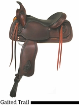 "** SALE ** 16"" 17"" American Saddlery Texas Best Del Rio Rider Trail Saddle, Gaited 950G"