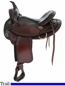 "** SALE ** 16"" 17"" Big Horn Texas Best Hill Country Trail II Saddle 940FQH"