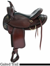 "** SALE ** 16"" 17"" American Saddlery Texas Best Hill Country Trail II Saddle, Gaited 940G"