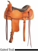 "** SALE ** 16"" 17"" American Saddlery Texas Best The San Saba Trail Saddle, Gaited 951G"