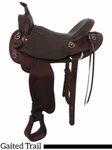"16"" 17"" Big Horn Custom Choice Fit Gaited Trail 883G"