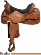 "16"" 17"" Courts Saddlery Reining Saddle 98817AN"