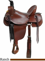 "** SALE ** 15"" to 17"" Dakota Mule Saddle 800"