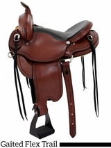"16"" 17"" Dakota Gaited Flex Trail Saddle 211"