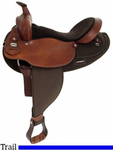 "16"" Fabtron Extra Wide Saddle with Round Skirt 7186"