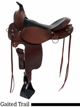 "** SALE ** 16"" 17"" Fabtron Gaited Trail Saddle 7764S-7766S"