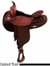 "16"" Fabtron Gaited Horse Saddle 7142 7144"