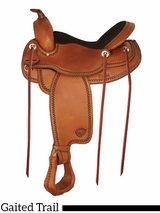 "17"" Tex Tan Gaited Trail Saddle 292519"