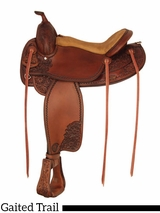 "17"" Tex Tan Jackson Gaited Trail Saddle 292TF494"