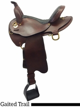 """DISCONTINUED 16"""" to 18"""" The Tennessean Lite-Rider Saddle With Horn 5367"""