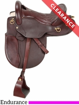 "16.5"" Royal King Classic Distance Rider Saddle 9520 CLEARANCE"