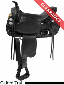 """16.5"""" The Tennessean Supreme Trail Saddle 2212 CLEARANCE"""