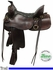 "16.5"" Used Tucker Big Bend Wide Trail Saddle 293 ustk3743 *Free Shipping*"