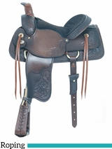 "16"" American Saddlery All Around Special Roping Saddle 790"