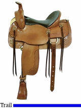 "** SALE ** 16"" American Saddlery Cumberland Trail Saddle 1386"