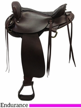 "** SALE ** 16"" American Saddlery Endurance Saddle 805"