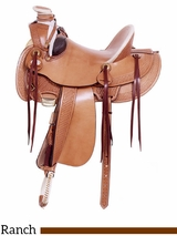 "** SALE ** 16"" American Saddlery MasterCraft Arizona Rancher Saddle 127"