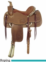 "16"" American Saddlery MasterCraft Helena II Roper Saddle 1794"