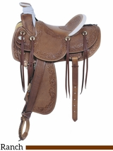"** SALE ** 16"" American Saddlery MasterCraft Legend Rancher Saddle 125"