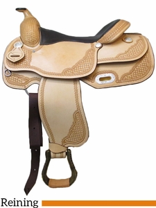 "** SALE ** 16"" American Saddlery Mastercraft Pro Reiner Saddle 9602"
