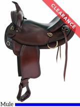 "16"" Big Horn Texas Best Hill Country Mule Trail II Saddle 940M CLEARANCE"