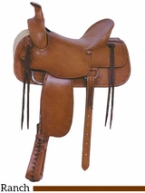 "** SALE ** 16"" American Saddlery Tucson Rancher Saddle 763"