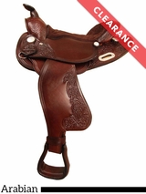 "16"" Big Horn Arabian Trail Saddle 908 CLEARANCE"