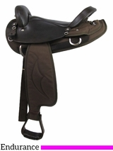 "16"" Big Horn Cordura Endurance Saddle 122"