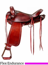"16"" Big Horn Flex Tree Endurance Saddle 804"