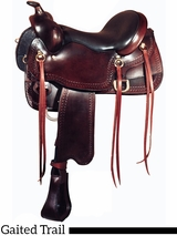 "16"" Big Horn Gaited Saddle 1544"