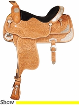 "16"" Big Horn Show Saddle 1942"